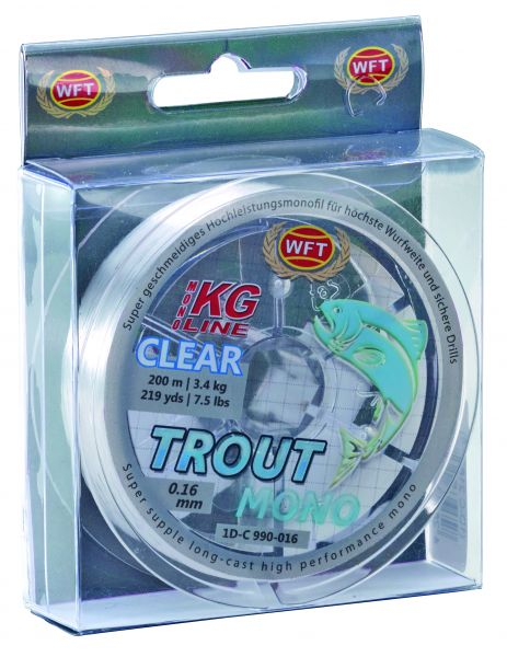 "WFT Trout Mono ""Clear"""