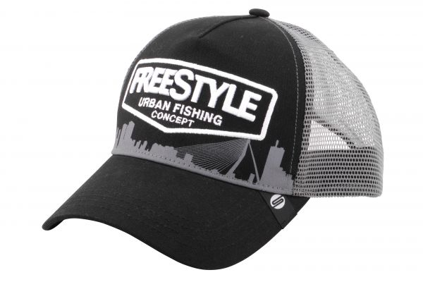 Spro Freestyle Trucker Cap Black